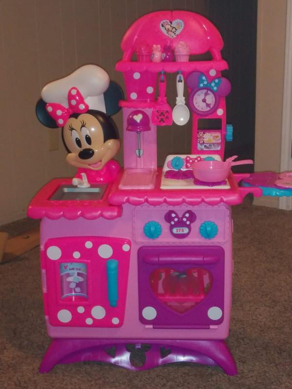 Minnie Mouse Flipping Fun Play Kitchens Cheap Online