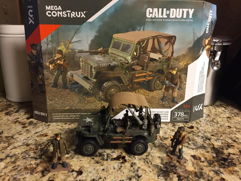 Scout Infantry Call Of Construx Mega Car Duty CBrdxeo