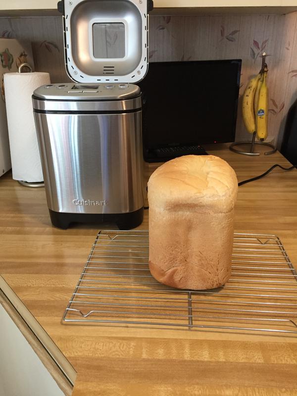 Cuisinart Cbk 110 Compact Automatic Bread Maker Silver Walmart Com Walmart Com