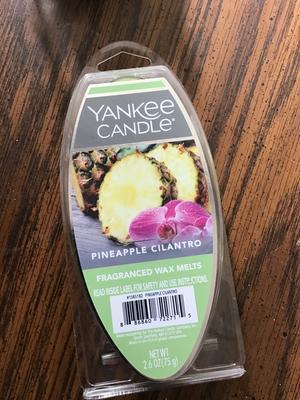 Yankee Candle Deerfield USA ananas coriandre Wax tart