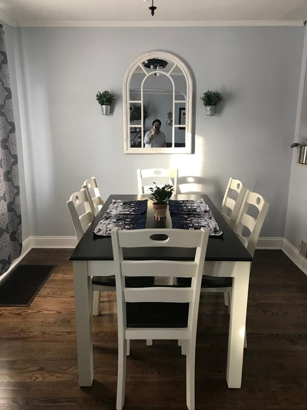 Woodanville Dining Table And 4 Chairs, Woodinville Dining Room Table And Chairs Set Of 7
