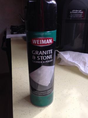 Weiman Granite Cleaner & Polish Aerosol, 17 oz - Walmart.com ...