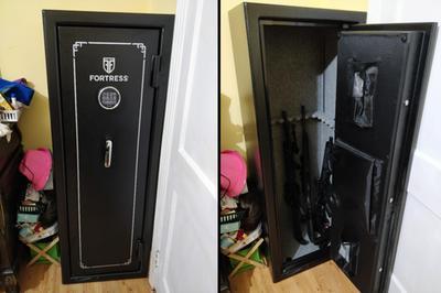 Fortress FS14E 14 Gun Fire Safe with E-Lock