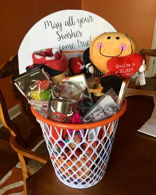 Basketball Gift Basket Gift Ideas