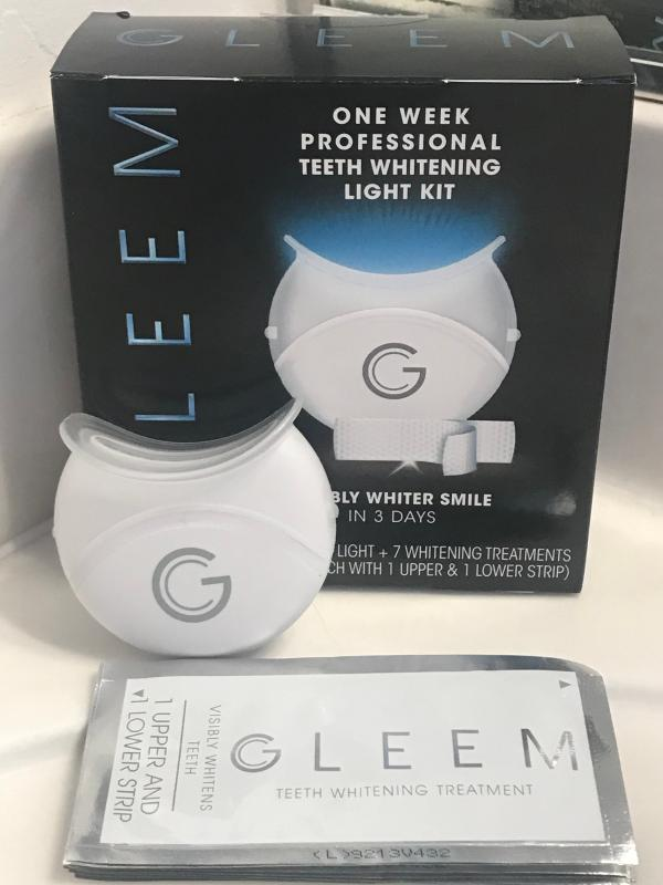 Gleem One Week Professional Teeth Whitening Light Kit 1 Led Light