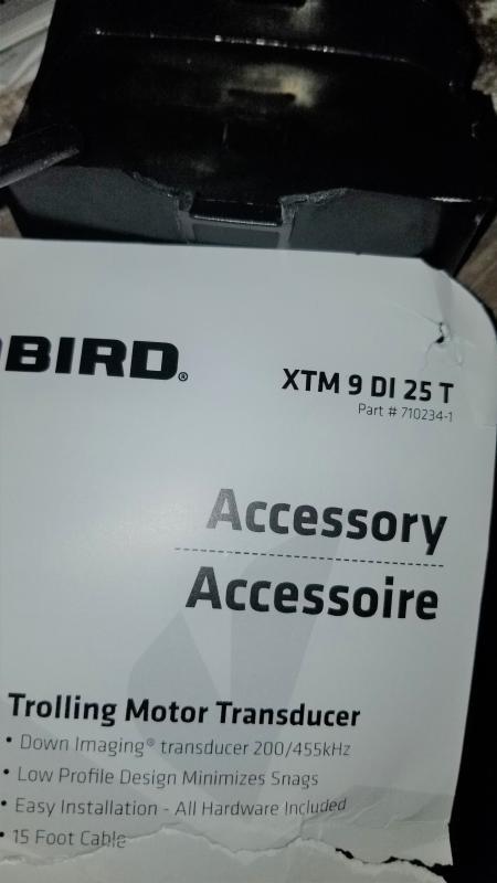 Humminbird Transducer XTM 9 DI 25 T 710234-1