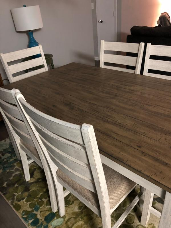 Signature Design By Ashley Skempton 7 Piece Dining Table Set