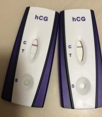 positive salt pregnancy test negative pictures