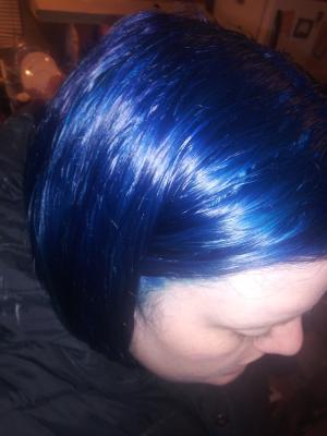 Jerome Russell Punky Hair Colour Midnight Blue 3 5 Oz Walmart Com Walmart Com
