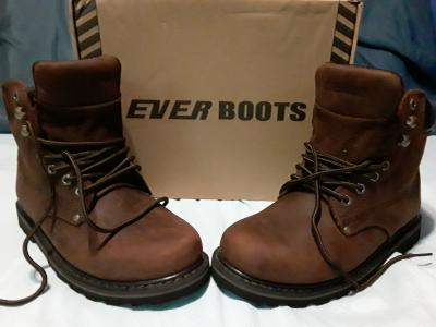 full leather work boots