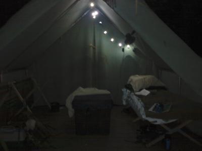 Coleman LED Camp Lantern String Lights