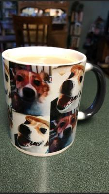 Personalized Multi Photo Color Changing Coffee Mug 11 Oz Walmartcom