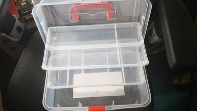 Superior Sewing Box Clear
