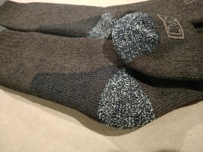 69cc2cdbee8 Men's Thermal Steel Toe Crew Socks, 2-Pack