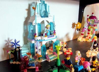 LEGO Disney Frozen Princess Elsa's Sparkling Ice Castle 292 Piece Building Kit - Walmart.com