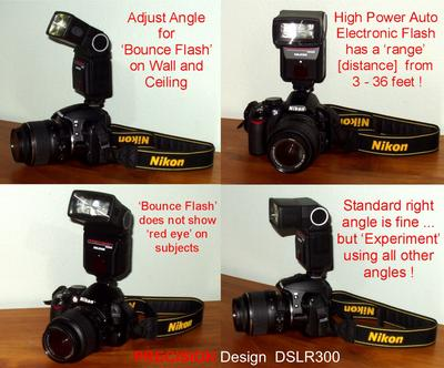 Precision Design Dslr300 High Power Auto Flash Walmartcom