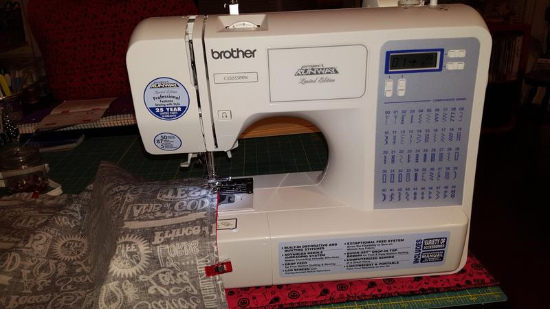 Brother 40Stitch Project Runway Computerized Sewing Machine Best Brother International Sewing Machine Cs5055prw