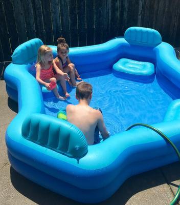 Intex Inflatable Swim Center Family Lounge Pool 105 X 26