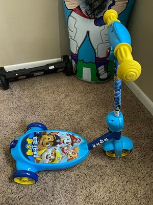Bubble Scooter Paw Patrol Electric Kid Ride-On Toddler Outdoor Play Rechargeable