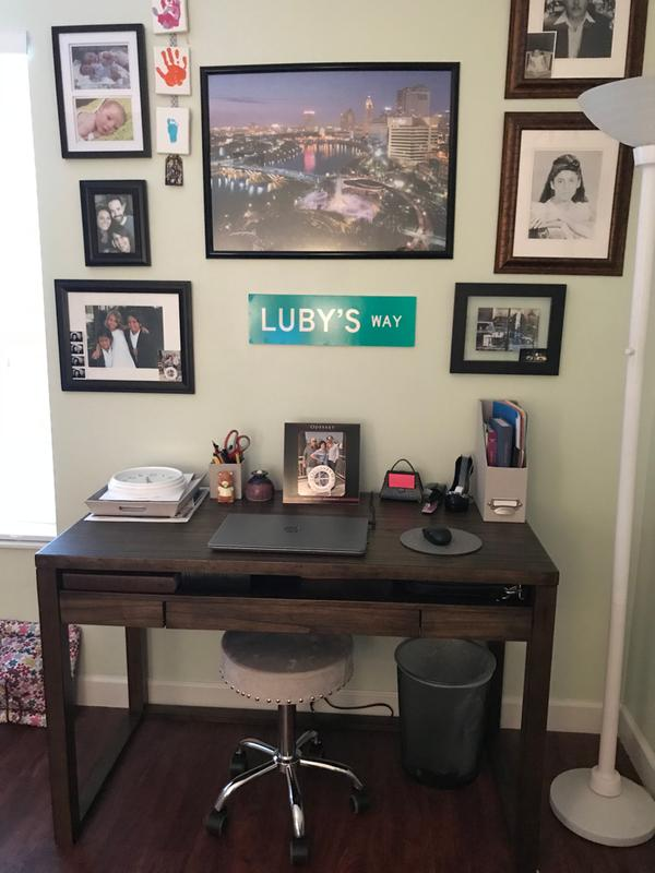 Signature Design By Ashley Baybrin Writing Desk Walmartcom