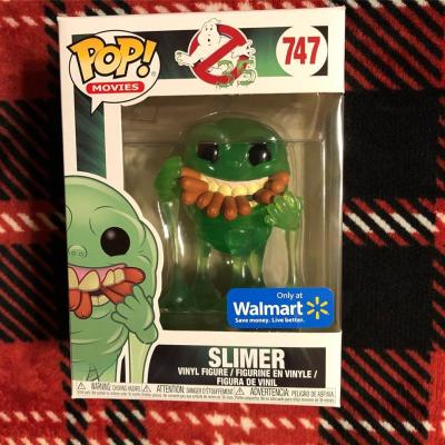 Movie Slimer with Hot Dog Translucent Funko POP Special Edition IN STOCK