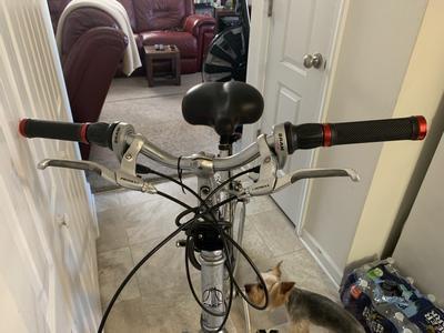 BMX MTB BRAND NEW Red Snafu Lock On Handlebar Grips