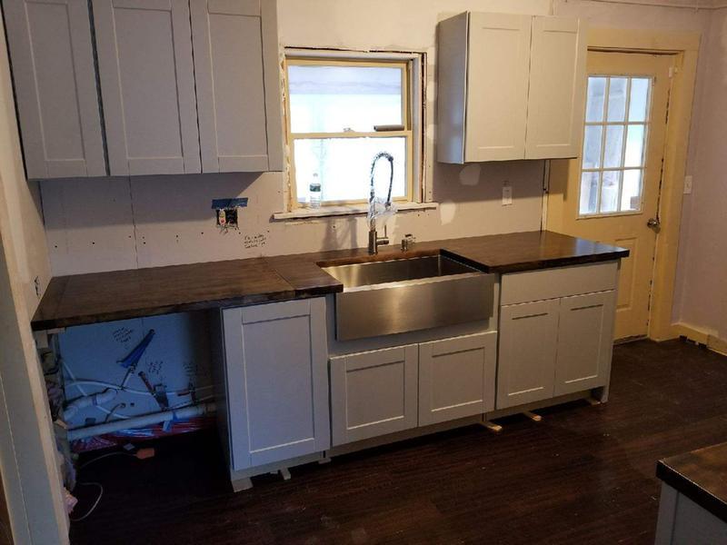 Kraus Standart Pro 36 Inch 16 Gauge 60 40 Double Bowl Stainless Steel Farmhouse Kitchen Sink