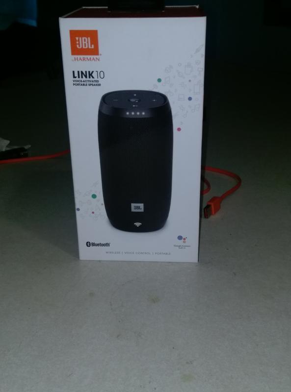 JBL Link 10 Voice-activated Portable Speaker - Walmart com