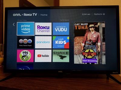 Onn 32 Class 720p Hd Led Roku Smart Tv Walmart Com Walmart Com