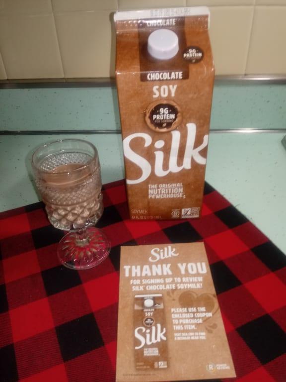 Silk Chocolate Soymilk 0.5 gal