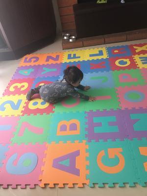 Trademark 96 Piece Foam Floor Alphabet And Number Puzzle Mat For Kids