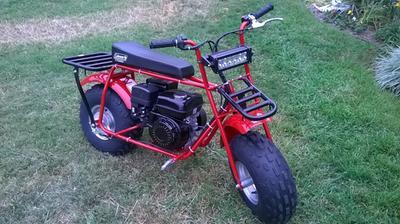 Coleman Powersports CT200U Trail200 Gas-Powered Mini Bike - Red -  Walmart com