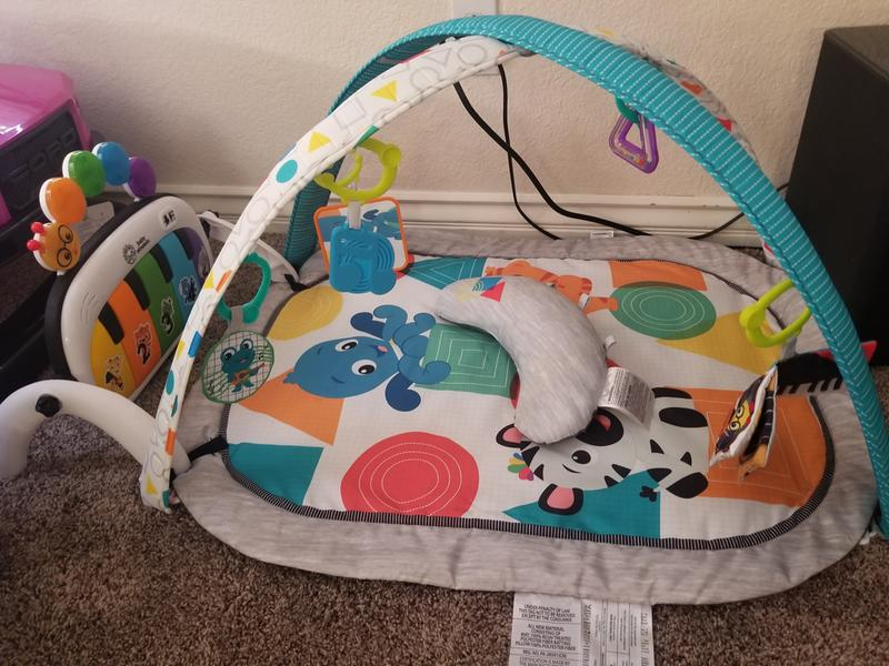 Baby Einstein 4-in-1 Kickin Tunes Music and Language Discovery Play Gym