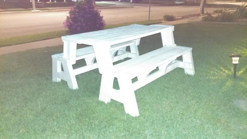 Swell Convert A Bench Outdoor Bench And Picnic Table Walmart Com Gmtry Best Dining Table And Chair Ideas Images Gmtryco