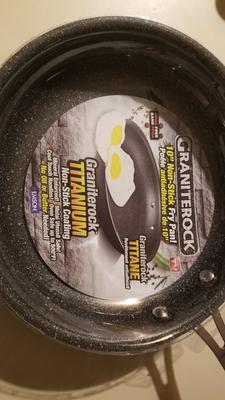 "Granite Stone 11"" Non-Stick Ultra Durable Scratch-Resistant Frying Pan – As  Seen on TV!"