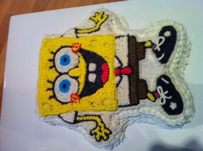 Wilton Novelty 11x12 Shaped Cake Pan SpongeBob 2105 5135