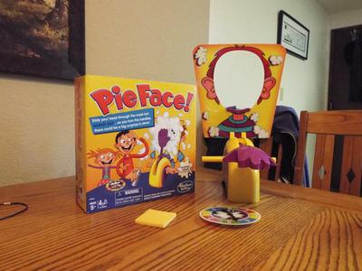 Pie Face Game, Ages 5 and up