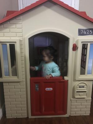 Incredible Little Tikes Cape Cottage Playhouse Tan Download Free Architecture Designs Scobabritishbridgeorg