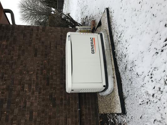 Generac 54314 Guardian Series Air-Cooled Home Standby Generator - 20 kW LP  & 18 kW NG, 200A Transfer Switch