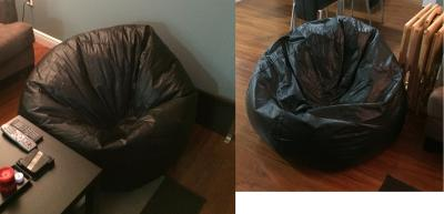 Awesome X Rocker 132 Round Extra Large Shiny Bean Bag Multiple Colors Spiritservingveterans Wood Chair Design Ideas Spiritservingveteransorg