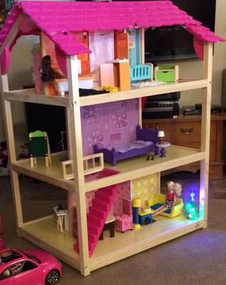 Kidkraft So Chic Dollhouse With 46 Accessories Walmart Com