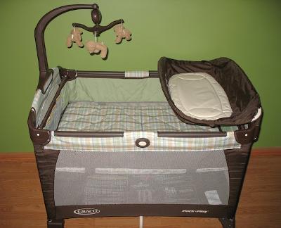 graco pack n play bear mobile