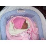 The First Years Cozy Baby Sleeper Infant Sleeper Bed