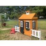 Big Backyard Bayberry Ready-to-Assemble Wooden Playhouse ...