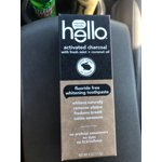 hello activated charcoal fluoride free whitening toothpaste 4 0 oz. Black Bedroom Furniture Sets. Home Design Ideas