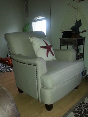deku Chair Leisure Chair for Living Room Gray