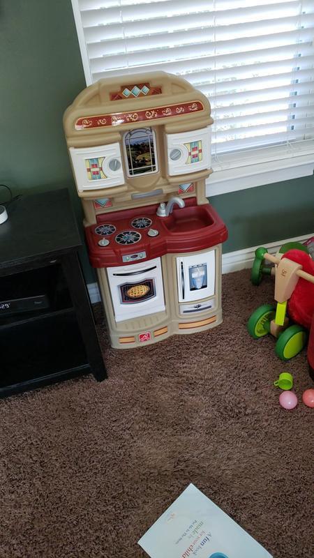 Step2 Cozy Play Kitchen With 21 Piece Accessory Play Set Walmart Com Walmart Com