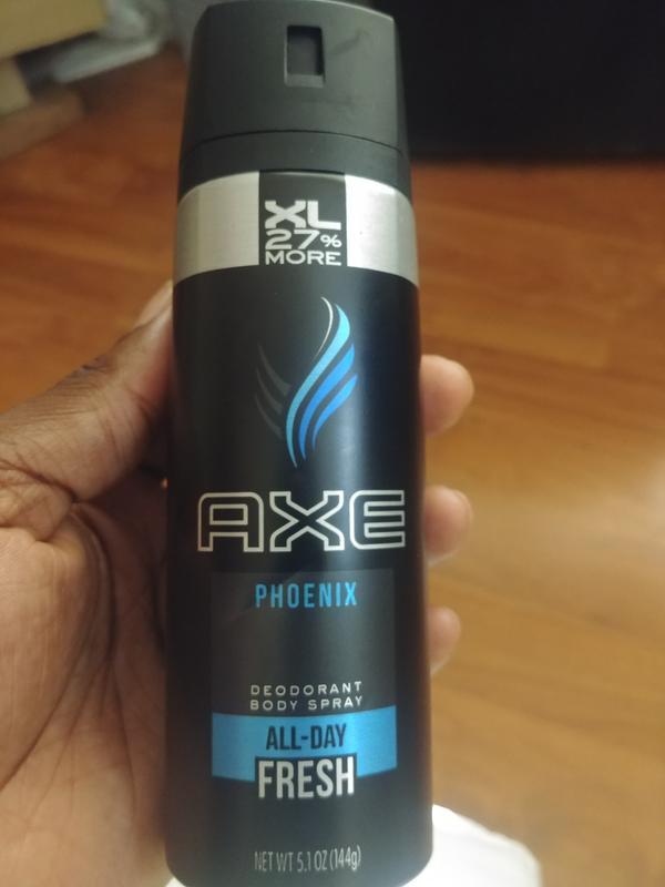 AXE Phoenix Body Spray for Men, 4 oz