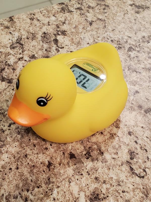 Munchkin Inflatable Bath Duck Hot Temperature Marker Heat Safety Travel Bath