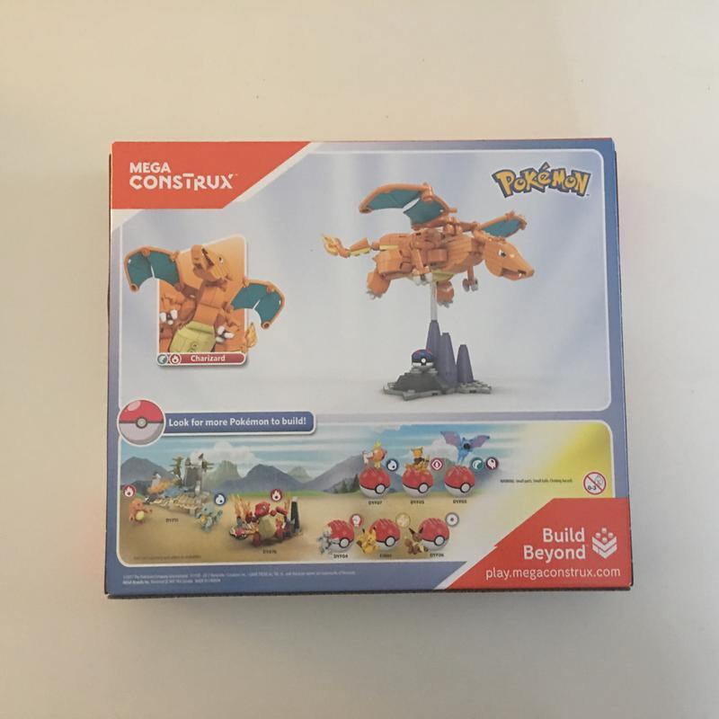 Mega Construx Pokemon Charizard Figure Walmart